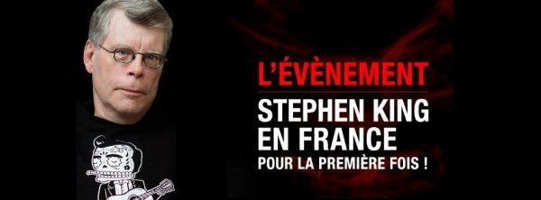 A la rencontre de Stephen King - Le Grand Rex