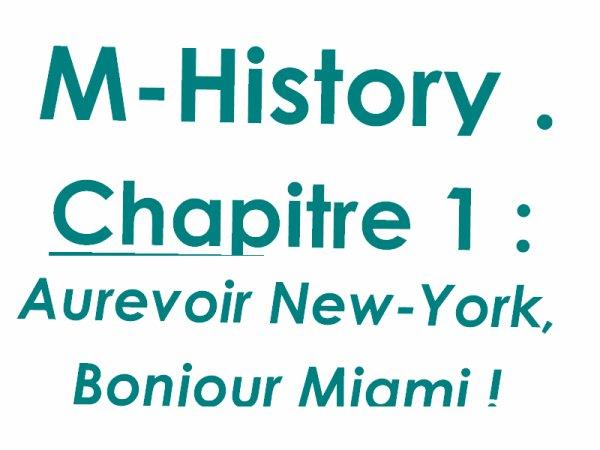 Chapitre 1 : Aurevoir New-York, Bonjour Miami !