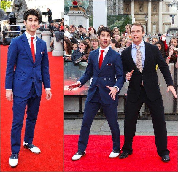 . 07 JUILLET        Darren, surexité d'être à l'avant première du dernier volet d'Harry Potter ! .