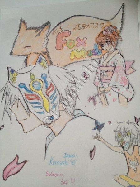 Fox Mask ✧ Un grand merci a Kumashi!!!