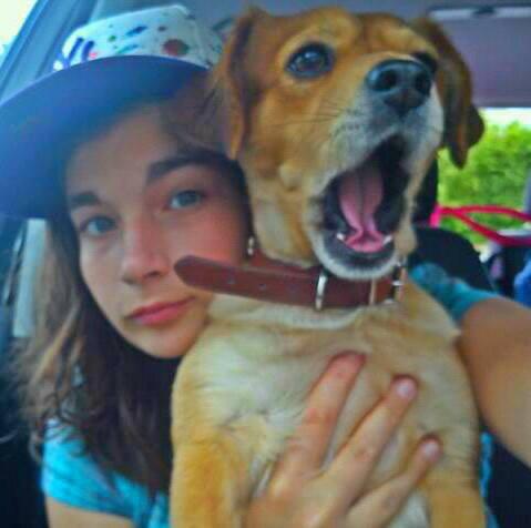 moi et my dog