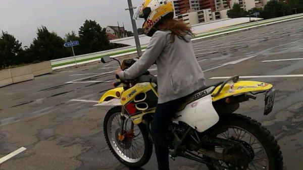 moi et la moto