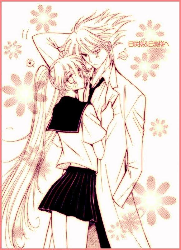 moi et kakashi