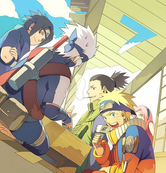 team 7, shika et kakashi