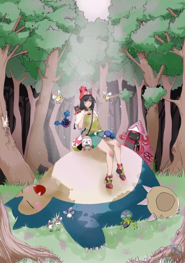 Fan'art Pokémon Soleil et Luna
