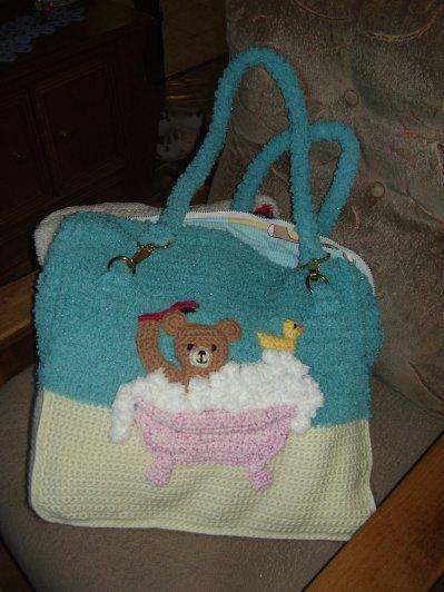 un sac pour les affaires de bébé