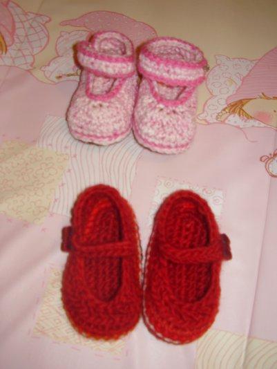 des petites chaussures pour ma petite fille