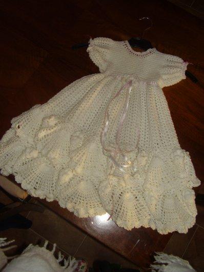une robe de baptême