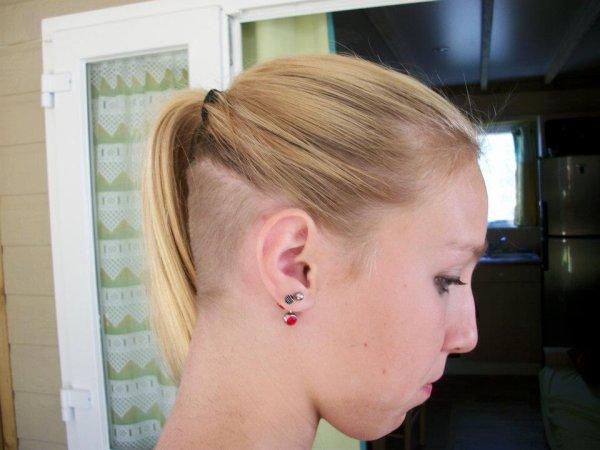 Mon ancienne coiffure :$ *-* je surkiffe <3