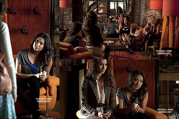 .     Stills des épisodes 03x15 & 03x14 de Pretty Little Liars.