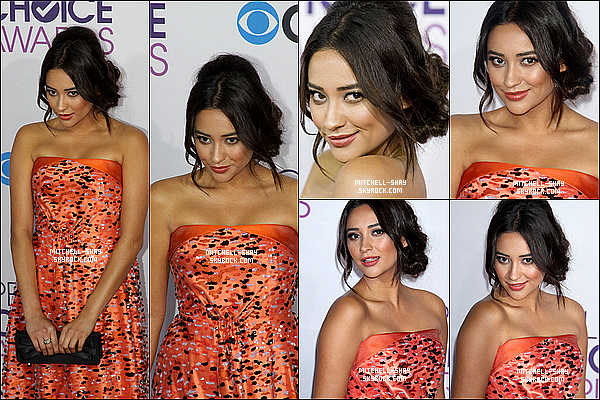 09/01/13 : Shay s'est rendue au People Choice Award a Los Angeles.