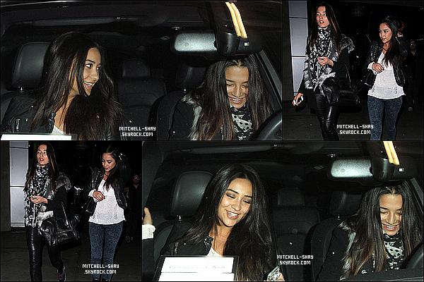 03/01/13 : Shay est allée accompagné d'une amie se sont rendue au cinéma a Los Angeles.