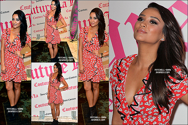 30/01/13 : Shay s'est rendue au magasin Juicy Couture a Beverly Hills .