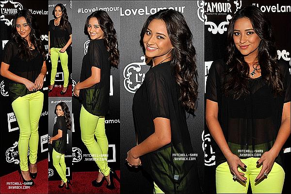 24/01/13 : Shay est allée a Lamour par Nanette Lauch party a New York City.