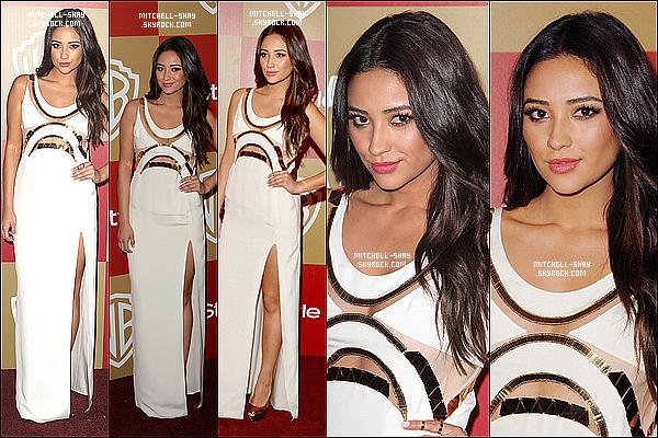 13/01/13 : Shay est allée a la Golden Globe party pour Instale & Warner Bros.