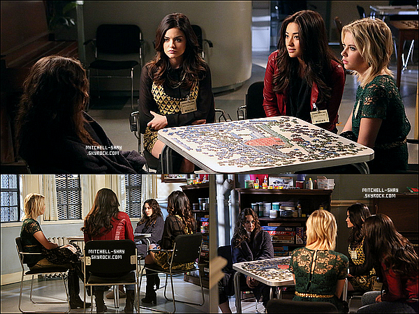 Stills des episodes 03x23 & 03x22 de Pretty Little Liars .