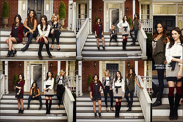 Photos promotionnel de Pretty Little Liars pour la saison 4 de la série.