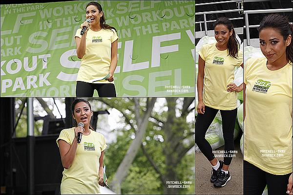 11/05/13 : Shay a participé a la journée de campagne du magazine Self.