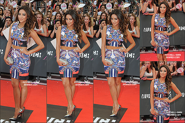 16/06/13 : Shay était présente au MuchMusic Video Awards  a    Toronto au Canada.