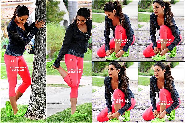 07/07/13 : Shay a été vu entrain de faire du sport dans les rues de Los Angeles .