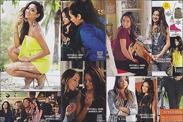 Shay et toute l'equipe de Pretty Little Liars en couverture pour le magazine US Weekly.