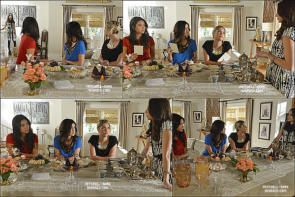 Stills de l'episode 03x24 & 03x21 de Pretty Little Liars.