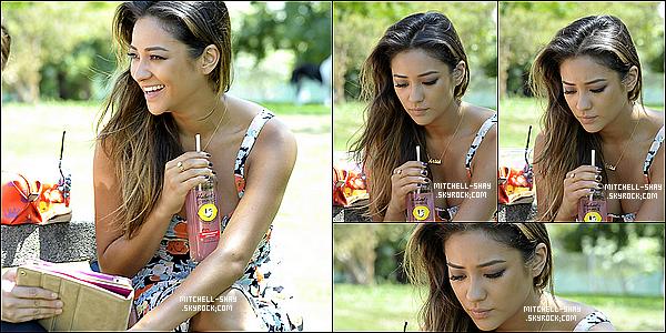 27/08/13 : Shay a été aperçu dans un parc, buvant une limonade,  a Los Angeles.