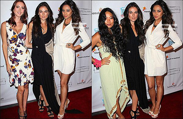 19/08/12 : Shay est allée au 18 pour 18 event a Hollywood.
