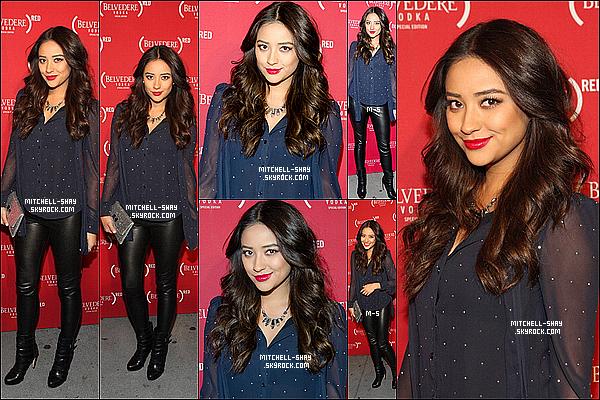 29/11/12 : Shay était présente a la soirée au Belvedere a New York City.