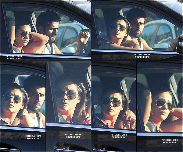06/09/13 : Shay a été vu quittant le Cecconi avec Ryan Silverstein dans l'ouest de Hollywood.