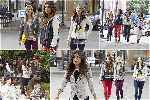Plusieurs nouveaux stills de l'episodes 04x12 de Pretty Little Liars.