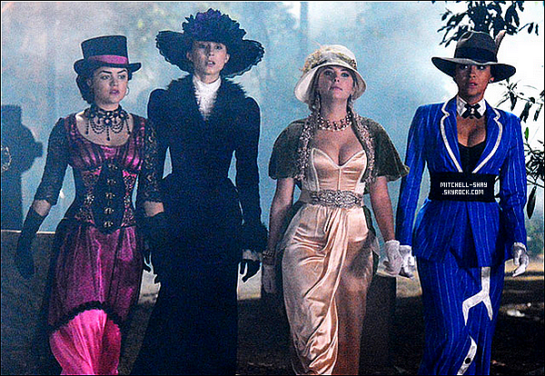 Stills de l'episode 04x13 spécial Halloween de Pretty Little Liars.