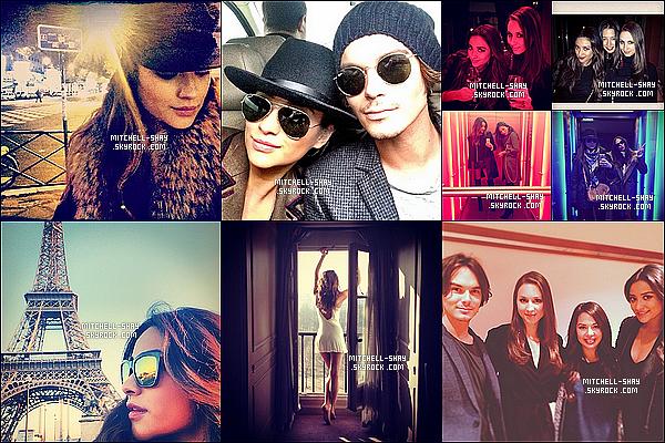 Découvrez plusieurs photos de Shay a Paris pour la convention    « Keep a Secret  » de Pretty Little Liars.