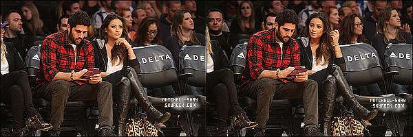 03/01/14 : Shay a été vu en compagnie de Ryan Silverstein (boyfriend?) au    Lakers Game    a Los Angeles.   Notre toute premiere sortie officiel de  Shay pour cette nouvelle année. Elle est très jolie même habillé tout en noir  vous ne trouvez pas?