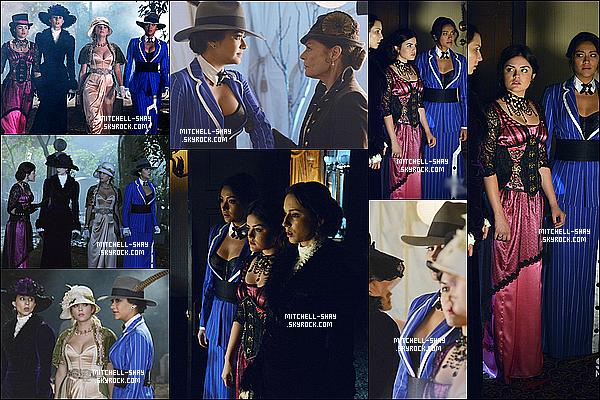 Plusieurs nouveaux stills de l'episode 04x13 spécial Halloween de Pretty Little Liars.