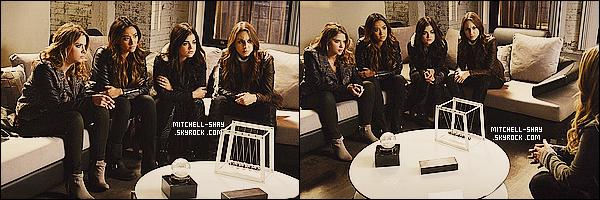 Découvrez de nouveaux  stills de l'épisode 24x04    « A is for awswer   » de Pretty Little Liars.