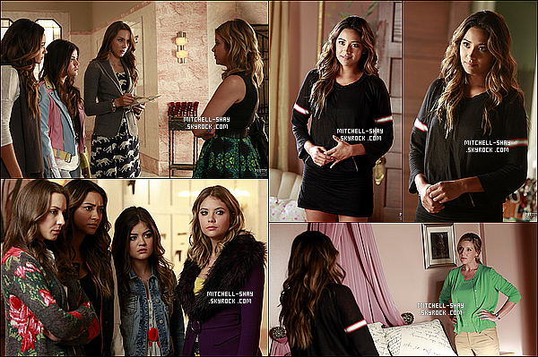 Découvrez les stills de l'épisode 15x04    « Who's in the box ?   » de Pretty Little Liars.
