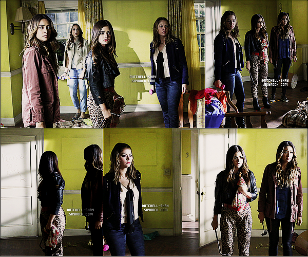 Découvrez les stills de l'épisode 16x04    « Close Encounters   » de Pretty Little Liars.