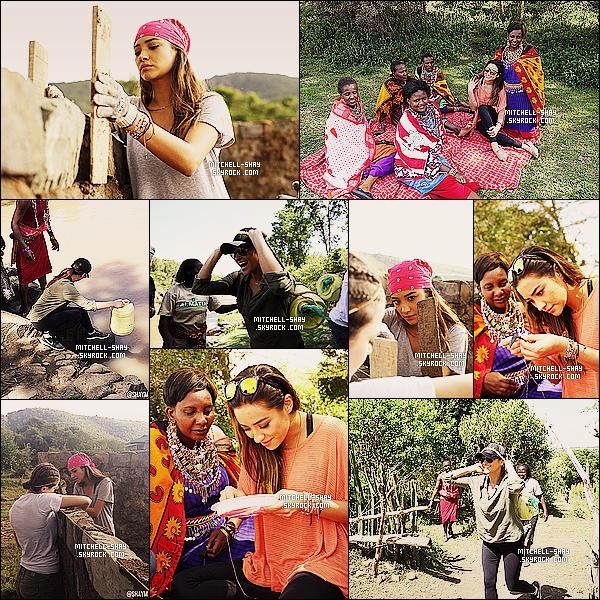 Voici quelques photos de Shay lors de son voyage en afrique plus précisement au     Kenya.