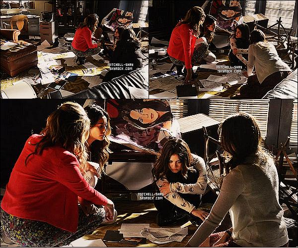 Découvrez de nouveaux  stills de l'épisode 21x04    « She's come undone   » de Pretty Little Liars.