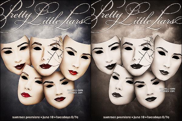 Découvrez l'affiche promotionnelle pour le début de la saison cinq  de Pretty Little Liars.