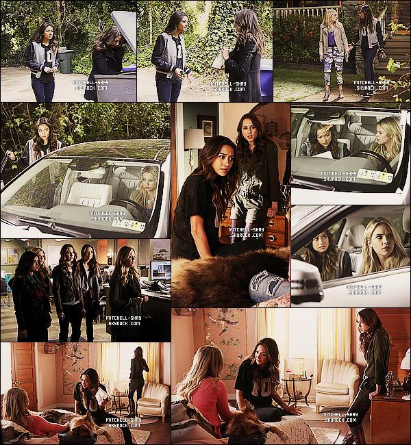 Découvrez de nouveaux  stills de l'épisode 05x02    « Whirly Girl   » de Pretty Little Liars.