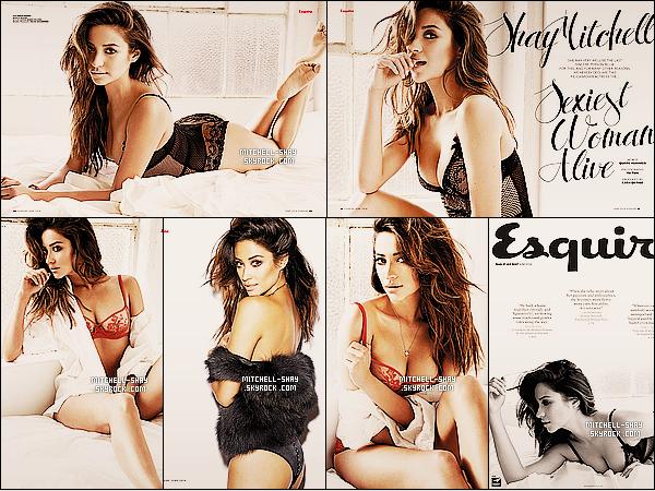De toute nouvelles photos de Shay réalisée pour le magazine « Esquire Philippines  » pour Juin 2014.