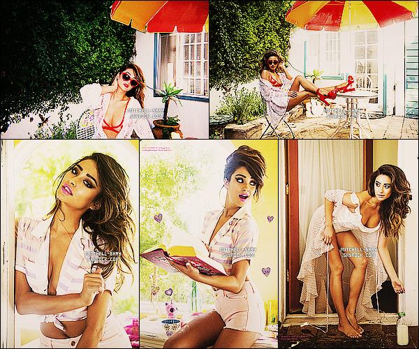 De toute nouvelles photos de Shay réalisée pour le magazine « Kitten Galore  » pour Juin 2014.