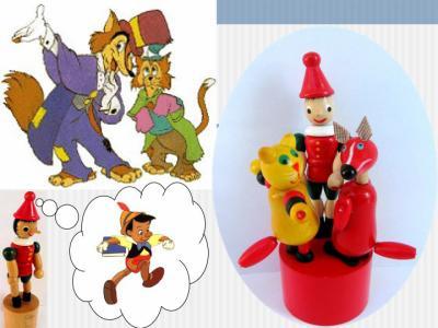 Pinocchio le renard le chat collection de wakouwas - Chat dans pinocchio ...