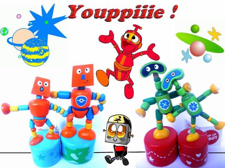 COUPLES DE ROBOTS