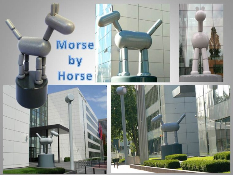 MORSE BY HORSE