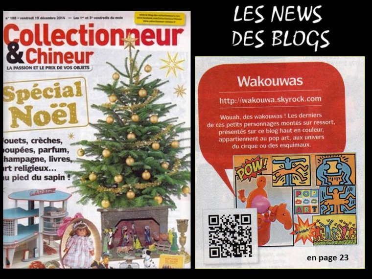 LES NEWS DES BLOGS