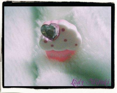 ° Bague Sweet Cupcake °