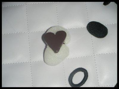 ° Bague Coeur chocolaté °